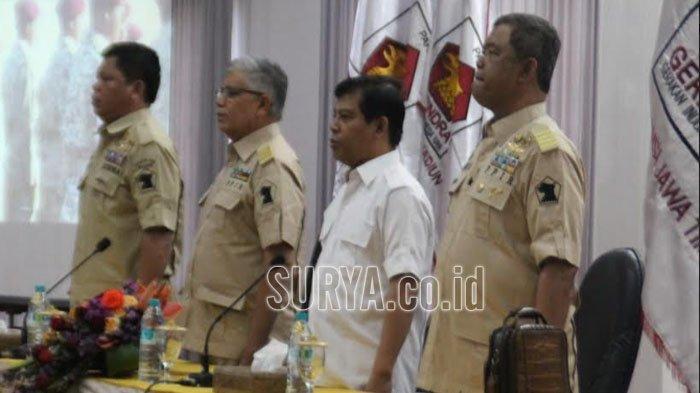 Ketua DPD Gerindra Jatim Soepriyatno : Kita Pejuang Politik, Pantang Kehilangan Motivasi