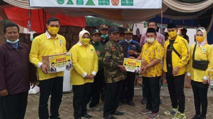 Golkar Jatim Kirim Bantuan Sembako Hingga Air Bersih untuk Korban Banjir Jombang