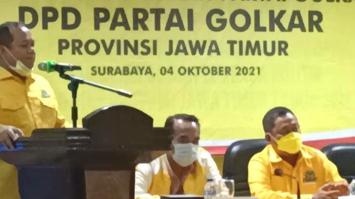 Elektabilitas Masuk 3 Besar, Partai Golkar Jatim Sambut Positif, Siap Perkuat Jaringan