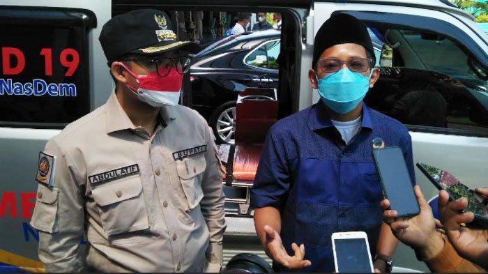 Nasdem Bangkalan Bantu Ambulans untuk Pasien Covid, Sanksi Tegas jika Sopir dan Nakes Minta Ongkos