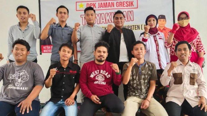 Barisan Pengusaha Muda Gresik Resmikan Posko untuk Menangkan Pasangan Gus Yani - Bu Min