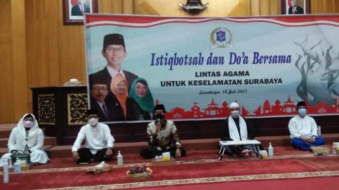 DPRD Surabaya Gelar Istighotsah Virtual dan Doa Lintas Agama, Berharap Pandemi Covid segera Berakhir