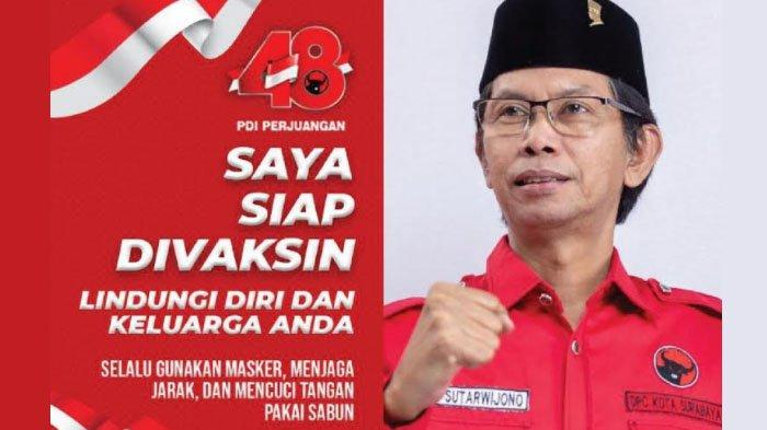 Ketua DPRD Surabaya Siap Divaksin: ini Langkah Tepat Hentikan Pandemi Covid-19