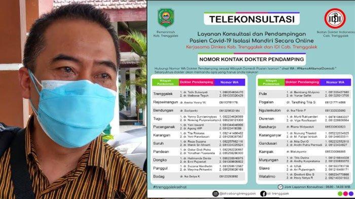 IDI Trenggalek Buka Layanan Telekonsultasi bagi Pasien Isolasi Mandiri Covid-19