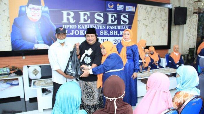 Curhatan Dari Para Lansia ke Ketua Komisi II DPRD Kabupaten Pasuruan