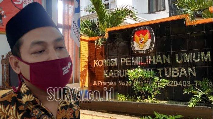 Jelang Pencoblosan Pilbup Tuban 2020, Ketua KPU Tuban Fatkul Iksan Terpapar Covid-19