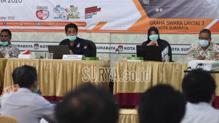 Pilwali Surabaya 2020, KPU Tetapkan Daftar Pemilih Tetap Berjumlah 2.089.027 Orang