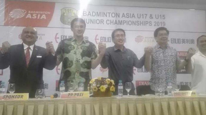 Pebulutangkis Junior Papan Atas Tarung di Badminton Asia U-17 dan U-15 di Surabaya