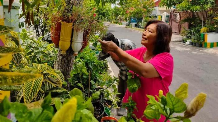 Warga RW 12 Rungkut Kidul Surabaya Siapkan Tukang Kebun di Tiap RT untuk Rawat Tanaman