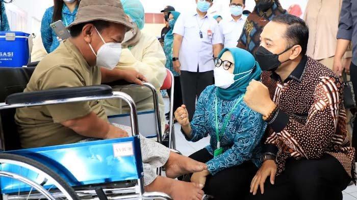 PKK Kota Surabaya Tiga Hari Gelar Vaksinasi Sasar 901 Disabilitas