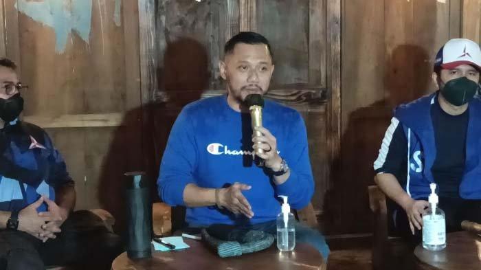 Tujuan AHY Kumpulkan DPC dan DPD Partai Demokrat se-Jawa Timur di Pasuruan