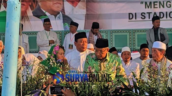 Hadiri Harlah NU di Lamongan, Ketua PBNU Said Aqil Siradj Doakan Tokoh NU Berhasil di Pemilu 2019