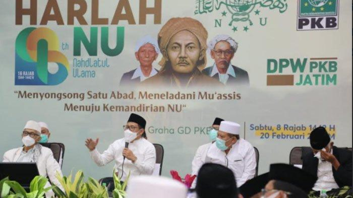 Di Acara Istighotsah Harlah NU, Kiai di Jatim Doakan PKB Menang Pemilu dan Gus Ami Jadi Presiden