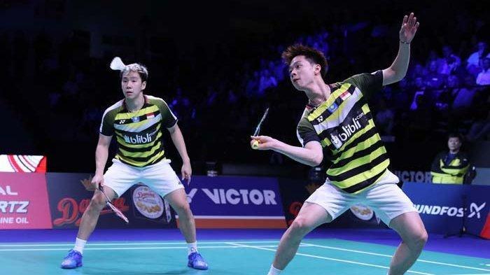 SEDANG BERLANGSUNG LIVE STREAMING Final Hongkong Open 2018, Kevin Sanjaya & Marcus Sedang Main