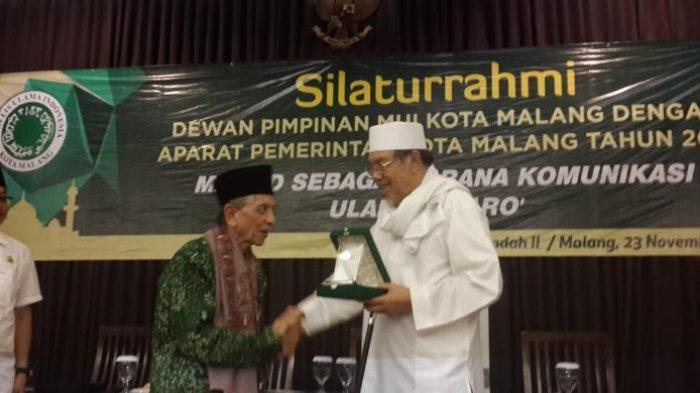Menteri Agama Era Presiden Gus Dur KH Tholchah Hasan Sakit dan Dirawat di RS Saiful Anwar Malang