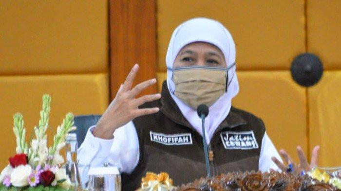 Gubernur Khofifah Serukan Masyarakat Jatim Jaga Ketat Protokol Kesehatan Saat Gelar Salat Idul Adha