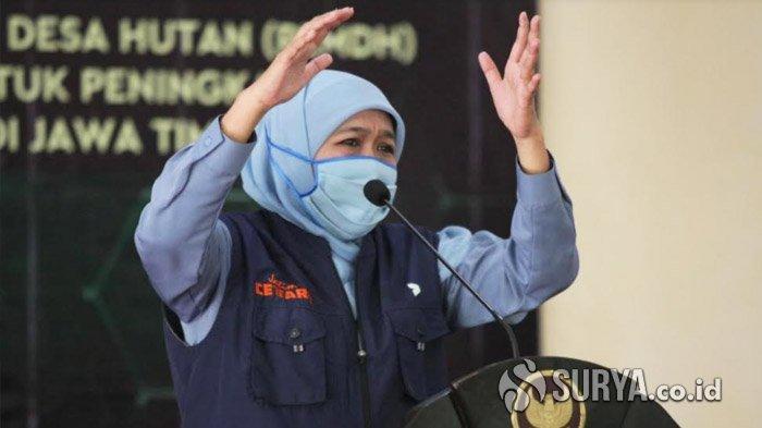 Gubernur Khofifah Ucapkan Selamat Atas Dilantiknya Kapolri Listyo Sigit