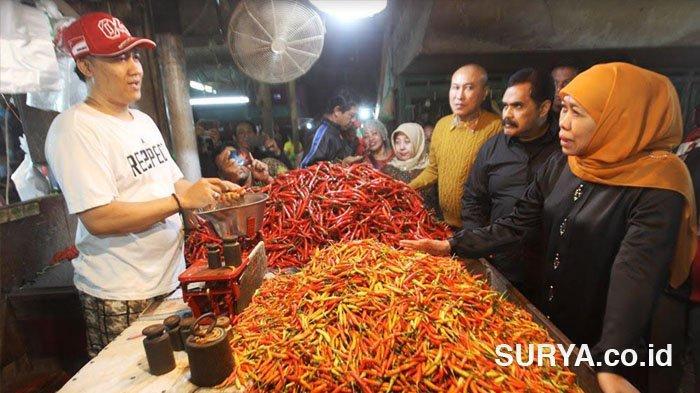 Pemprov Jatim Cepat dan Tanggap Atasi Lonjakan Harga Bawang Putih dan Over Supply Cabai Rawit