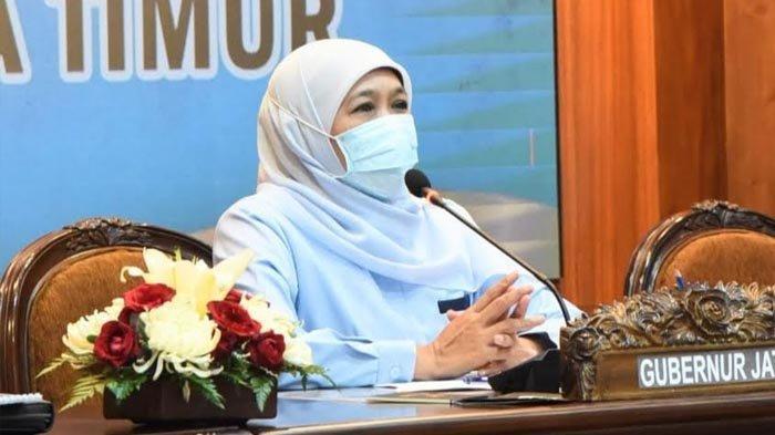 Khofifah Wajibkan Kades Refocusing Dana Desa untuk PPKM Mikro dan Penanganan Covid-19