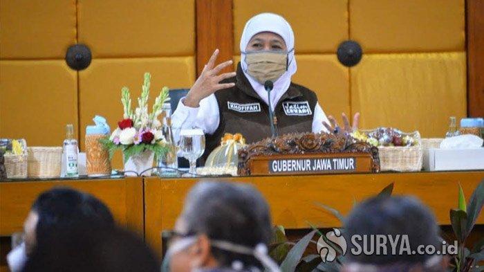 Gubernur Khofifah: Insya Allah Puncak Pandemi Covid-19 di Jawa Timur Sudah Terlewati