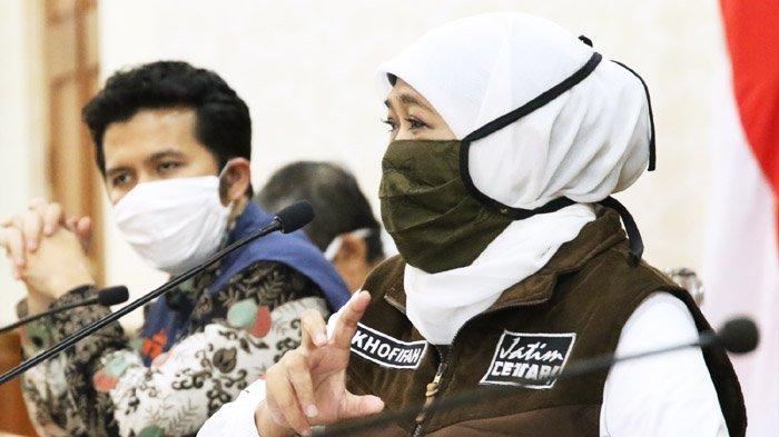 May Day di Tengah Pandemi Virus Corona, Gubernur Khofifah Imbau Buruh Tak Gelar Aksi Turun ke Jalan