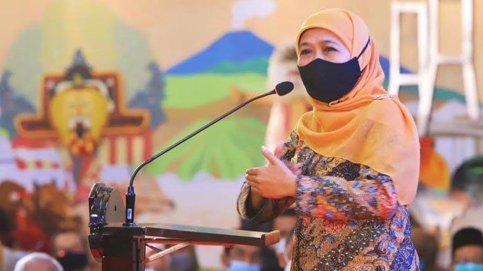 Gubernur Khofifah Wanti-wanti Perusahaan Tak Cicil THR Pegawai di Lebaran Tahun Ini