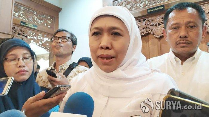 Gubernur Khofifah Angkat Bicara Soal Saiful Ilah yang Kena OTT KPK