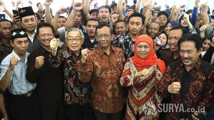Gubernur Khofifah Minta Maspion Bentuk Tim untuk Rencana Penyediaan Perumahan untuk Karyawan