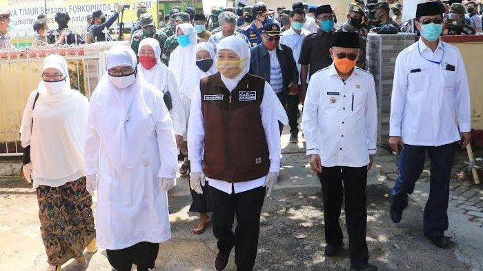Gubernur Khofifah Salurkan Paket Sembako dan Peralatan Medis ke Kepulauan Raas dan Kangean Sumenep