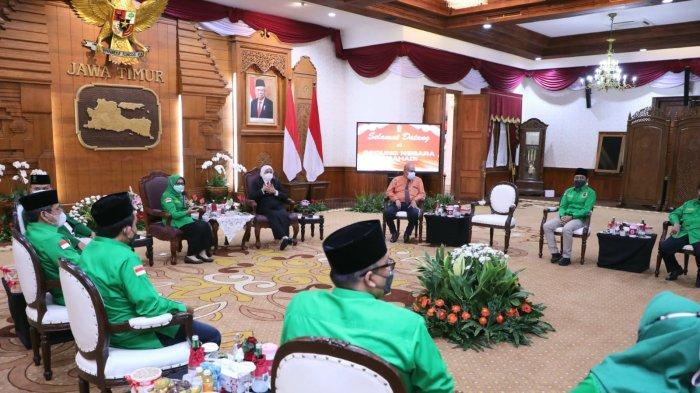 PPP Jatim Silaturahmi ke Gubernur Khofifah, Siap Kolaborasi dan Sinergi Dukung Program Pemprov