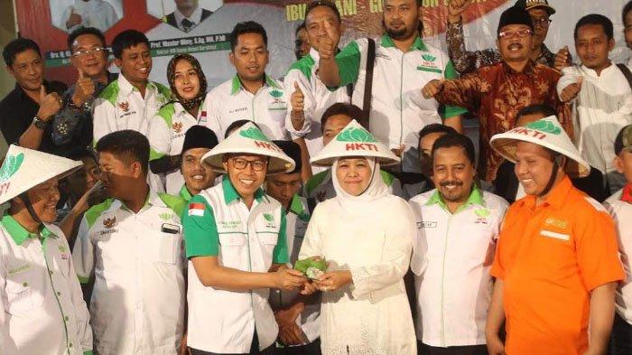 321 Lahan Pertanian Jatim Krisis Air, Khofifah Ajak HKTI Petakan Kebutuhan Embung dan Sumur