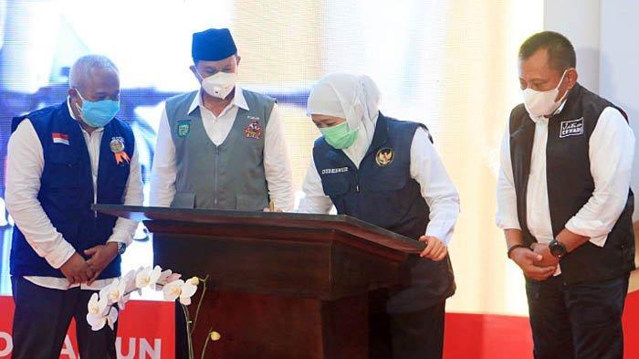 Gubernur Khofifah Resmikan Trauma Centre dan Intensive Care RSUD dr Soedono Madiun