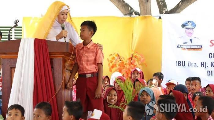 Khofifah Resmikan 2 SD di Donggala yang Dibangun dari Donasi Warga Jatim untuk Korban Gempa