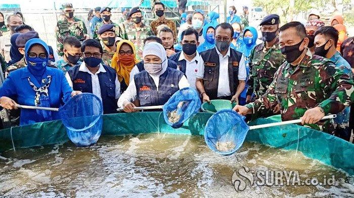 Gubernur Khofifah: Ketahanan Pangan di Jawa Timur Aman dan Kuat Meski di Tengah Pandemi