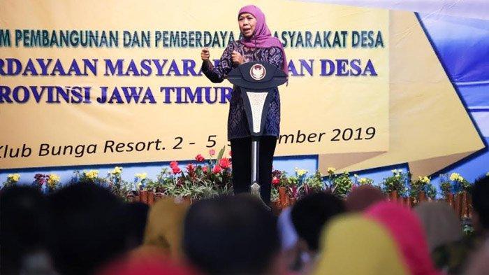 Buka Rakor P3MD, Gubernur Khofifah Minta Fokus Turunkan Angka Kemiskinan dan Stunting di Pedesaan