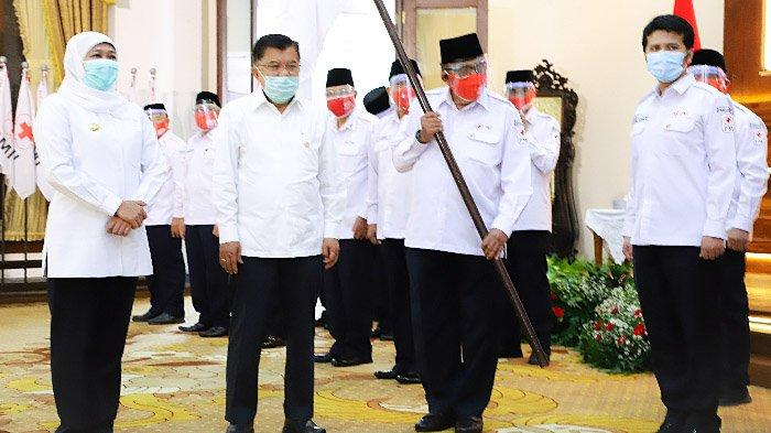 Gubernur Khofifah Ajak PMI Jatim Antisipasi Bencana Hidrometeorologi Melalui Rencana Kontijensi
