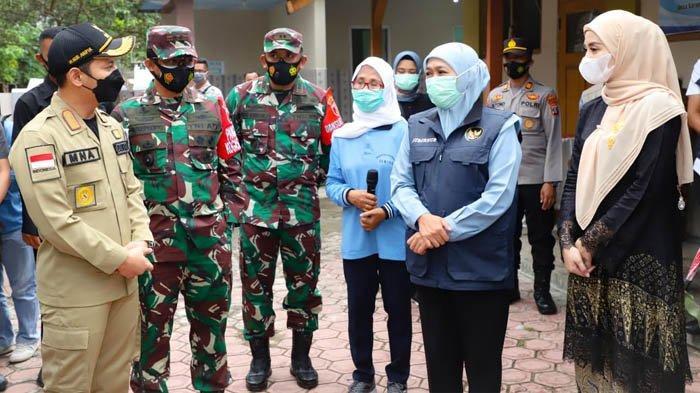 Gubernur Khofifah Bersama Forkopimda Jatim Tinjau Kampung Tangguh Semeru di Madiun dan Trenggalek