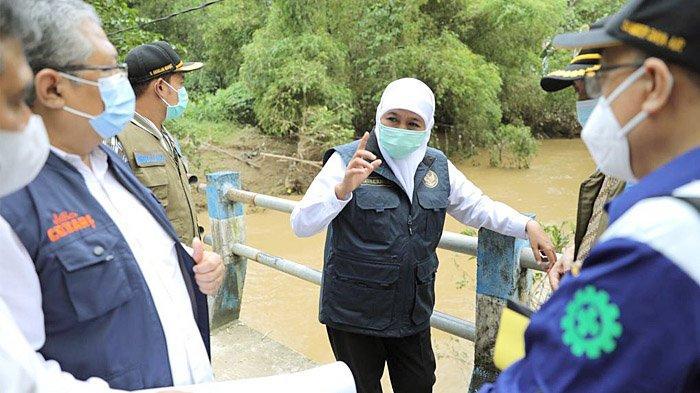 Atasi Banjir Sampang, Gubernur Khofifah Akan Normalisasi Sungai Kemuning dan Bangun Floodway
