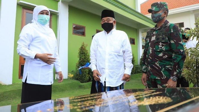 Gubernur Khofifah Meresmikan Gedung Asrama Mahasiswa Putra Sunan Gunung Jati Mojokerto