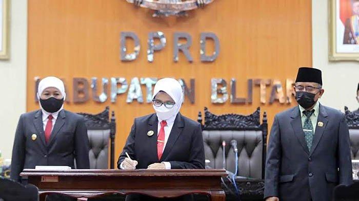 Rampung Sertijab, Gubernur Khofifah Minta Bupati Blitar Bedah PSN Selingkar Wilis dan Lintas Selatan