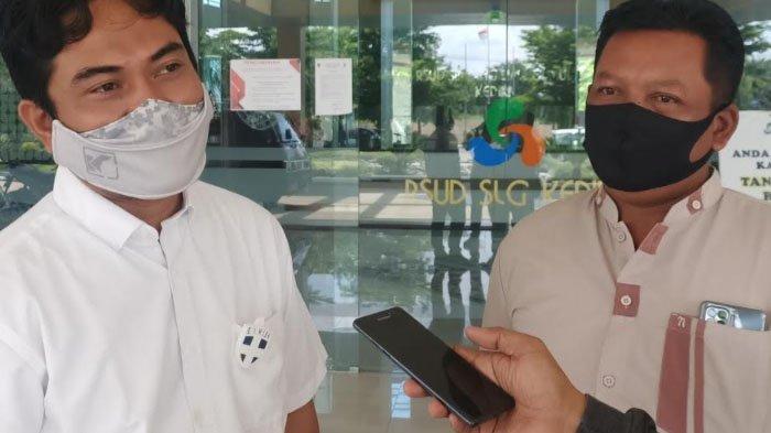 Anggota DPRD dan Pemkab Kediri Jenguk Fais, Siswa MTS Diduga Korban Kekerasan Guru