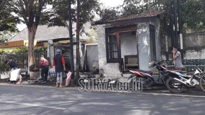 Ban Truk Lepas, Menggelinding dan Tabrak Kios di Malang, Buntutnya Muncul Kebakaran