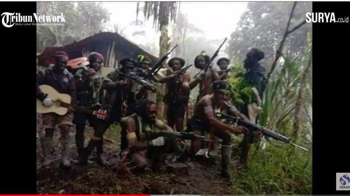 Ilustrasi KKB Papua bersatu lagi