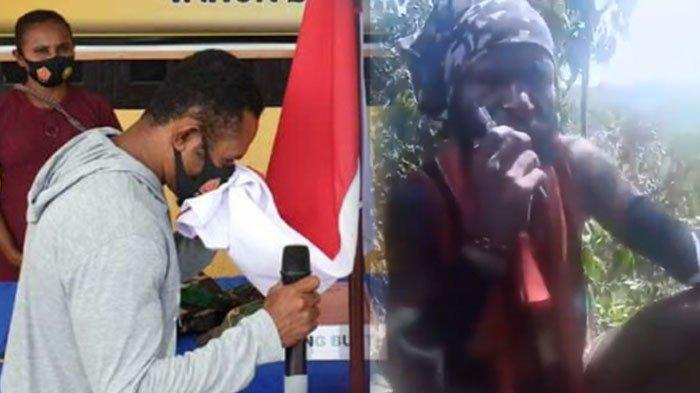 Beredar viral video KKB Papua Kelaparan dan pilih mundur. Di bagian lain, salah satu pentolan KKB memilih ikrar setia ke NKRI.