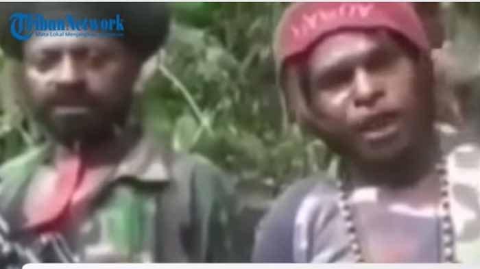 Video KKB Papua Tantang 400 Pasukan Setan Perang di Hutan Nduga, OPM Makin Brutal Bakar Sekolah