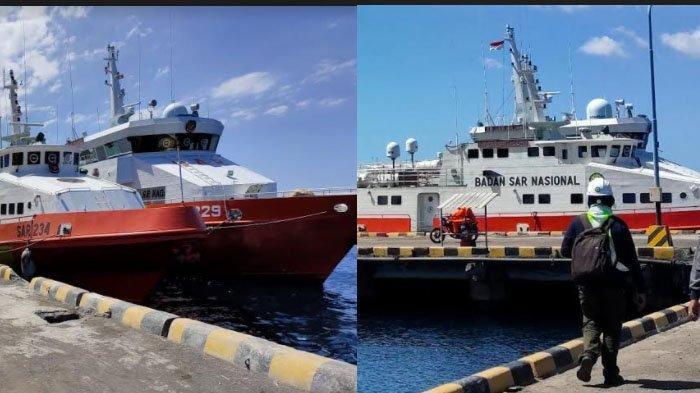 3 Kapal Basarnas Siap Bantu Cari KRI Nanggala 402, KN  Antasena dan KN Arjuna Tiba di Tanjung Wangi