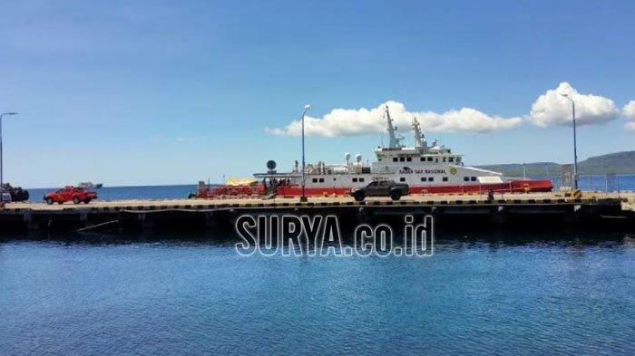 Bantu Pencarian KRI Nanggala 402, Kapal Basarnas KN SAR Antasena Tiba di Pelabuhan Tanjung Wangi