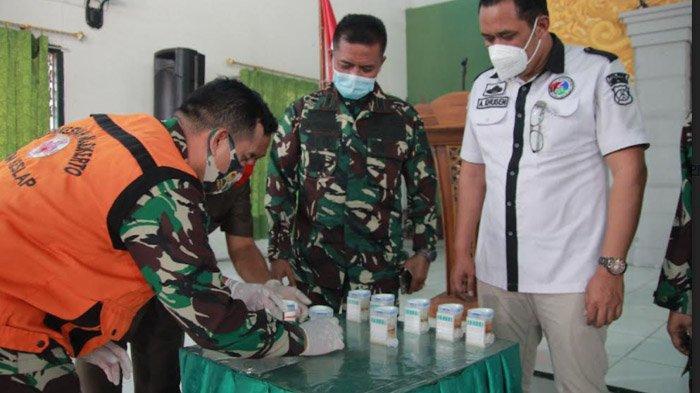 Dites Urine Acak, Prajurit Kodim 0812 Lamongan Juga Harus tahu Obat dan Tanaman Kategori Narkotika
