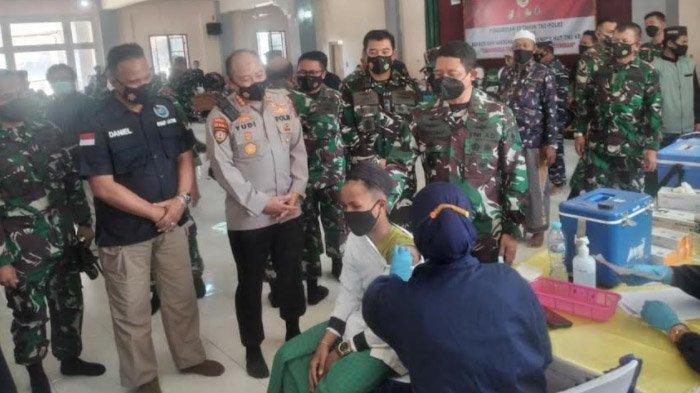 Memacu Vaksinasi di Bangkalan Sampai 70 Persen, Dandim 0829 Ajak Tepis Ego Sektoral dan Bersinergi