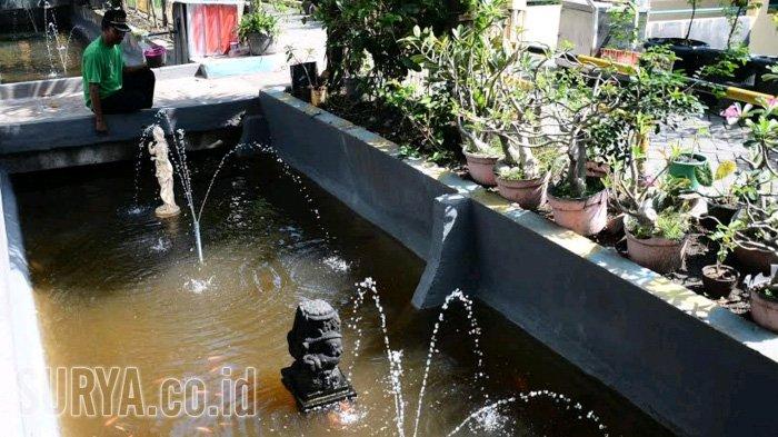 Rungkut Kidul Bangun Kolam Ikan di Selokan agar Warga Terdorong Jaga Lingkungan